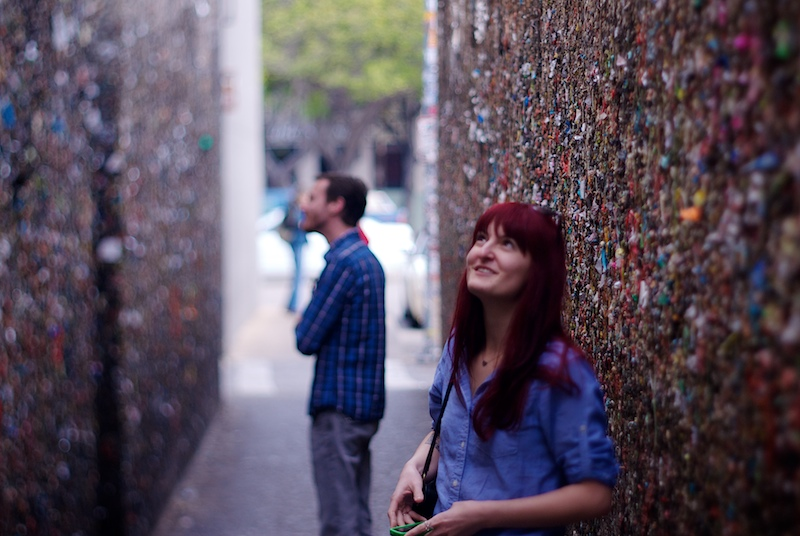 The awe of Bubblegum Alley